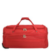Lightweight Large Size Holdall with Wheels HL472 Red 2