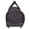 Lightweight Mid Size Holdall with Wheels HL452 Black 4
