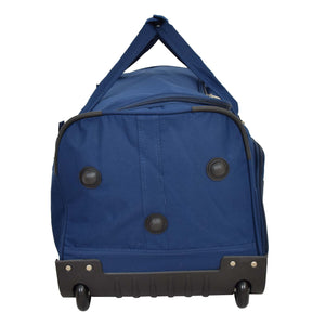 Lightweight Large Size Holdall with Wheels HL472 Blue 3