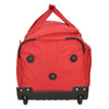 Lightweight Large Size Holdall with Wheels HL472 Red 4