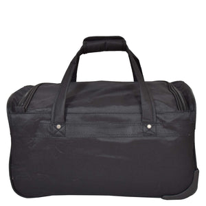 Lightweight Mid Size Holdall with Wheels HL452 Black 3
