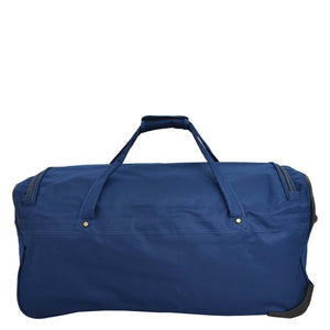 Lightweight Large Size Holdall with Wheels HL472 Blue 2