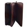Real Leather Portfolio Case A4 Document Holder Cookbury Brown 3