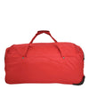 Lightweight Large Size Holdall with Wheels HL472 Red 3