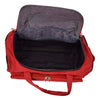 Lightweight Large Size Holdall with Wheels HL472 Red 6