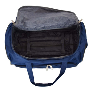 Lightweight Large Size Holdall with Wheels HL472 Blue 5