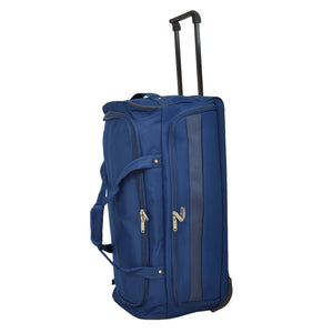 Lightweight Large Size Holdall with Wheels HL472 Blue