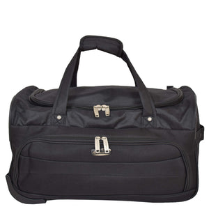 Lightweight Mid Size Holdall with Wheels HL452 Black 2