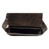 mens leather bag with inside zip pockets