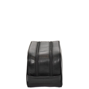 leather cosmetics bag
