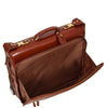 suit bag with outer pockets