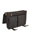 mens bag with inside organiser sections