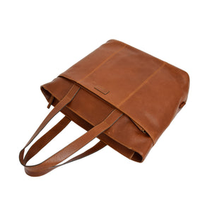 leather travel hand carry bag