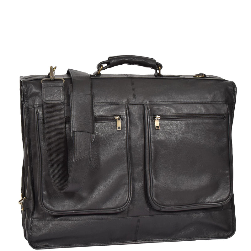mens and womens leather garment bag