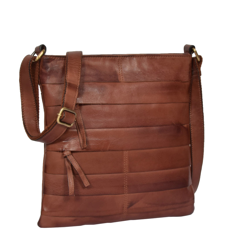shoulder bag in tan for womens