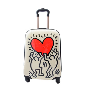 small size suitcase in black