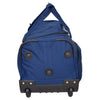 Lightweight Mid Size Holdall with Wheels HL452 Blue 3