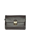 lockable leather wristlet bag