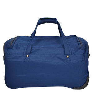 Lightweight Mid Size Holdall with Wheels HL452 Blue 2