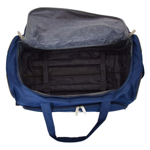 Lightweight Mid Size Holdall with Wheels HL452 Blue 5