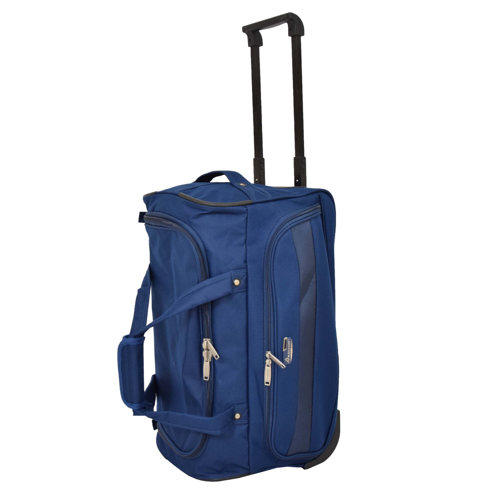 Lightweight Mid Size Holdall with Wheels HL452 Blue