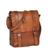mens leather flight bag