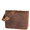 mens leather flap over bag