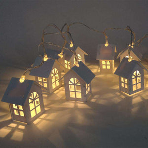 1.5M 10pcs LED Christmas House Decoration