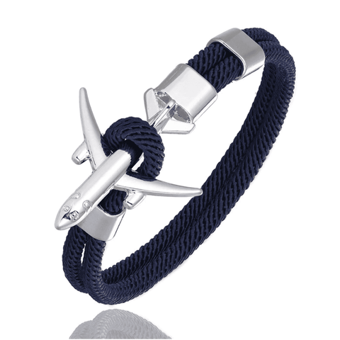Image of PLANELET™ Airplane Anchor Bracelet