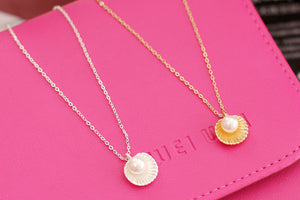Cute Pearl Shell Necklace