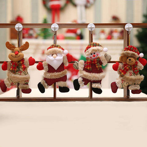 Image of Merry Christmas ornaments Santa Claus Tree Decorations - Prography Gear
