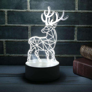 Christmas 3d Lamp 7 Color Changing