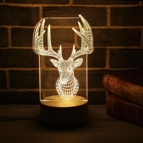 Image of Christmas 3d Lamp 7 Color Changing - Prography Gear