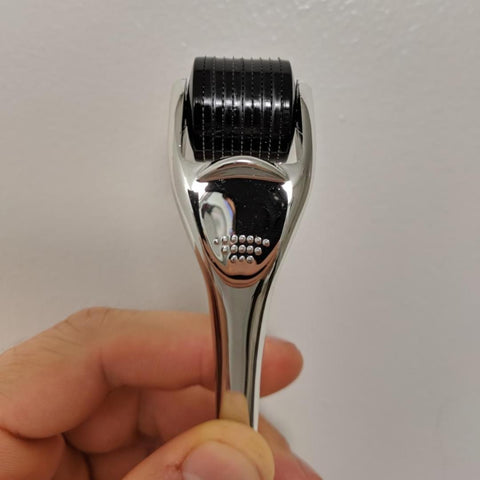 Image of New Titanium Beard Roller + FREE Case + Free E-Book