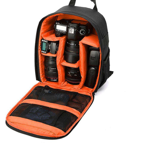 Photography DSLR Camera Backpack Waterproof Photo Camara Bags - Prography Gear