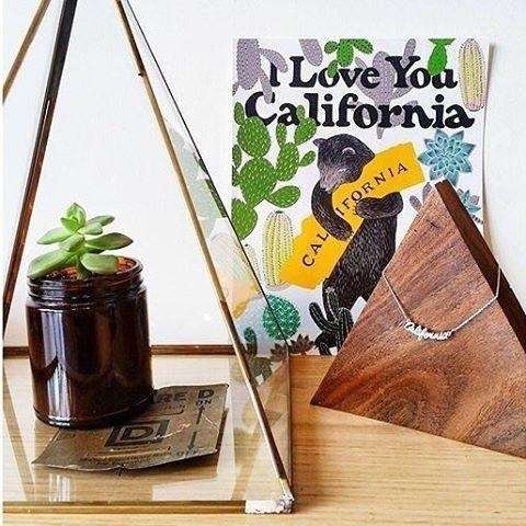 California Necklace With Card - Prography Gear