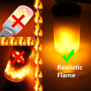 LED Flame Effect Light Bulbs Lamp - Royalty Trends