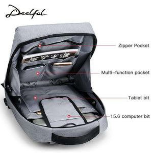 DEELFEL Smart Anti Theft Backpack - Prography Gear