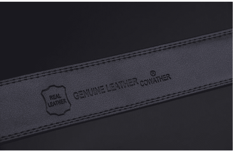COWATHER genuine Leather Belt for Men - Prography Gear