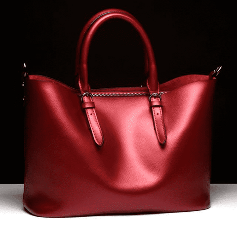 Image of Luxury Genuine Leather Women Designer Bag - Prography Gear