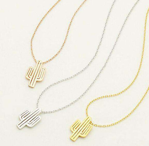 Cactus Necklace - Royalty Trends