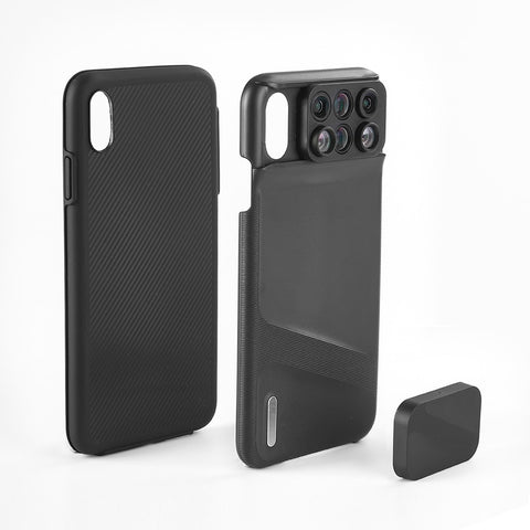 6 IN 1 integrated iPhone Lens Case - Prography Gear