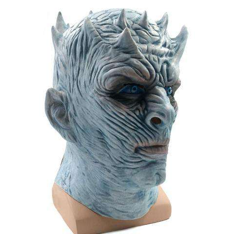 THE NIGHT KING WHITE WALKER GAME OF THRONES LATEX MASK - Royalty Trends