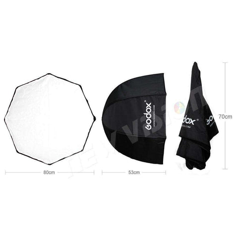 Foldable Octagon Umbrella Speedlite Softbox - Prography Gear