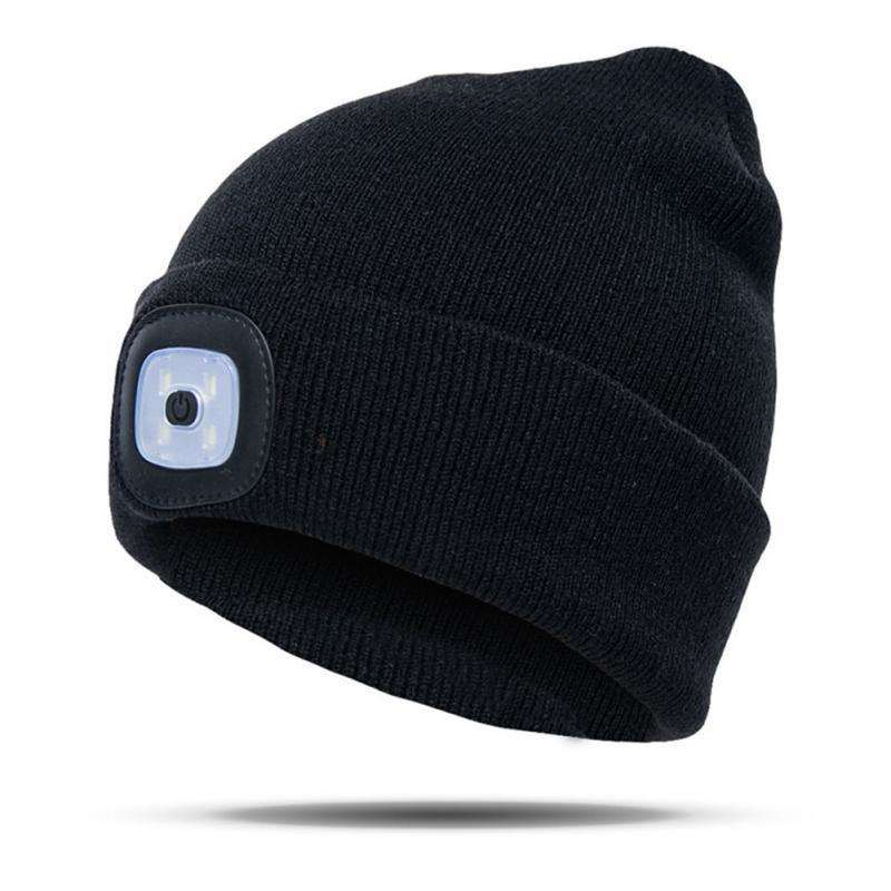 LumiWear™ - Rechargeable LED Beanie