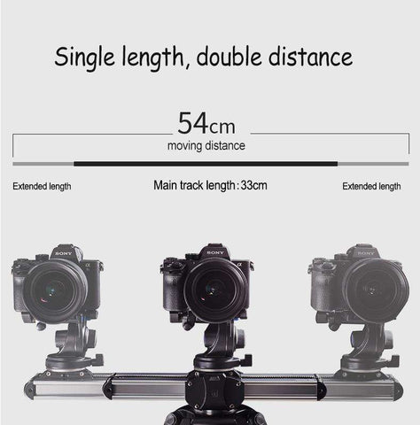 Image of Professional Portable Camera Slider Rail System For DSLR - Prography Gear