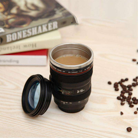 Image of Linssi™ Camera Lens Travel Mug - Prography Gear