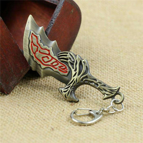 God Of War Blade Of Chaos Keychain - Prography Gear