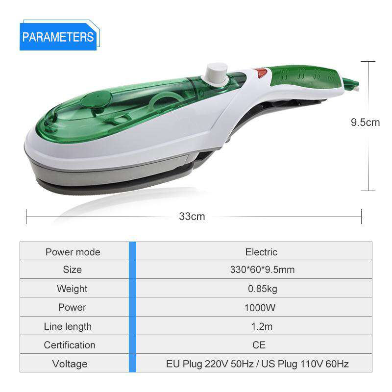 ANIMORE Portable Handheld Garment Steamer