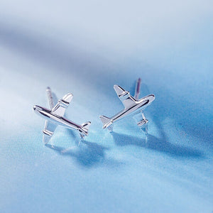 Authentic Airplane Earrings